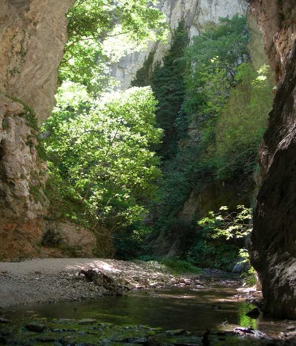 The Gola di Fiastra, Sibillini Mountains, Le Marche, Italy