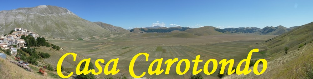 Casteluccio and the Gran Piano in the Sibillini Mountains in central Italy