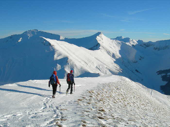 WinterWalking in the Sibillini Mountains, Le Marche, Italy